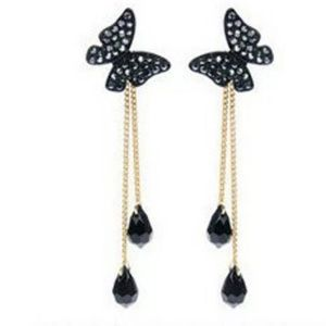 Jewelry - Bohemian Style Butterfly Rhinestone Earrings
